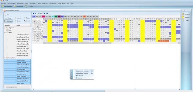 ZE.basis Komplettsystem für 20 Mitarbeiter mit Karten