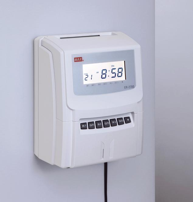 Stempeluhr MAX ER-2700